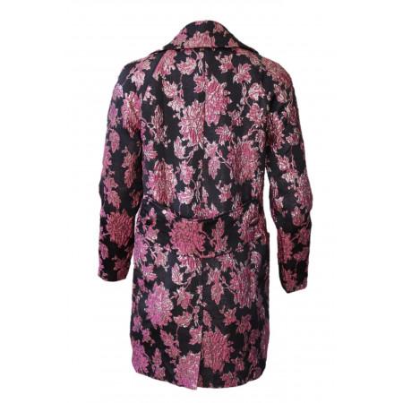 Luella Black Layering Coat