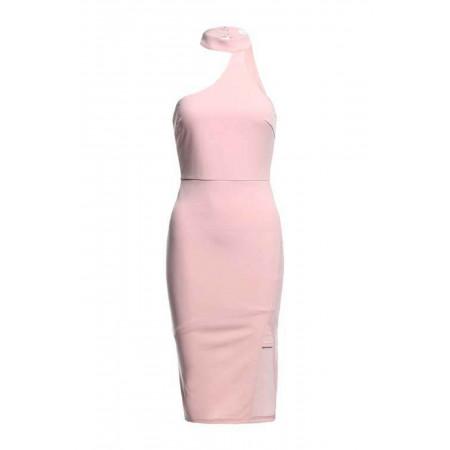 Mock Neck Bodycon Dress