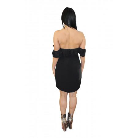 Off Shoulder Dress-back
