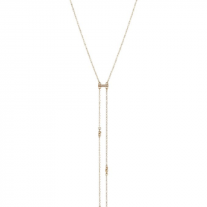 Cutting Edge Necklace in Gold Ettika