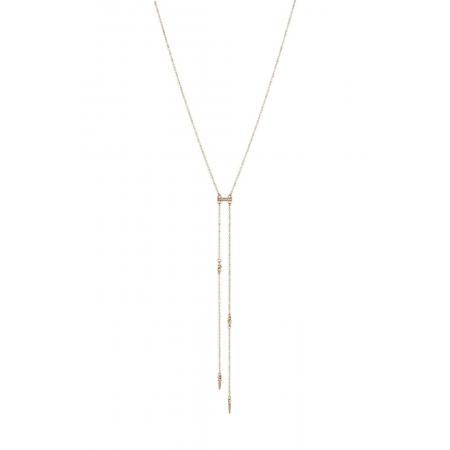 Cutting Edge Necklace in Gold Ettika