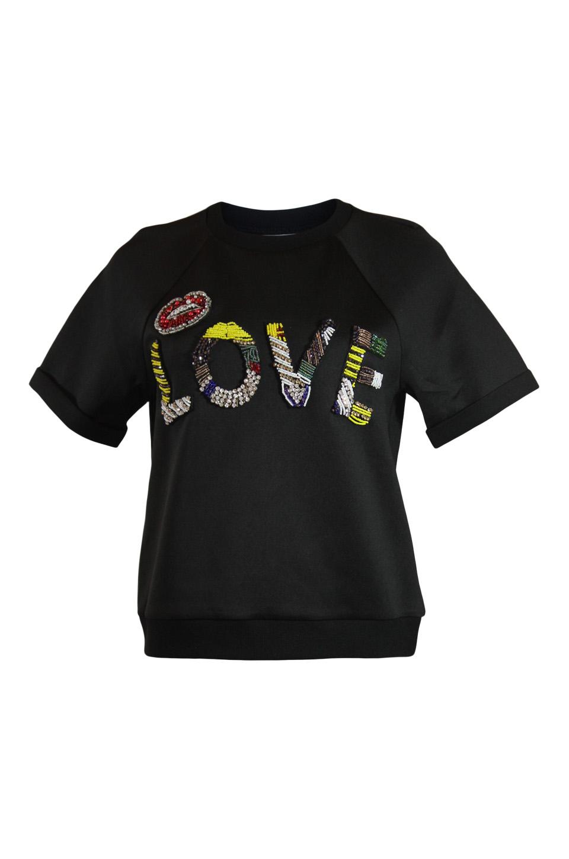 Grey Lab LOVE short sleeve Sweatshirt