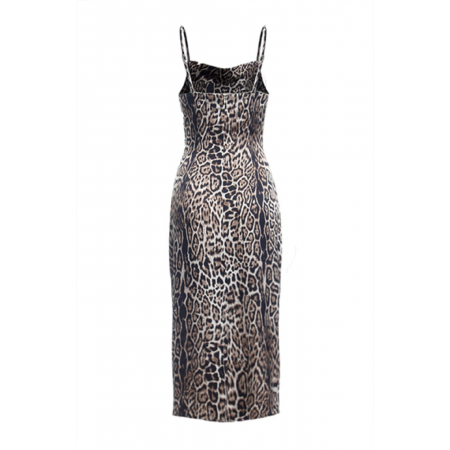 reNamed nina leopard dress back