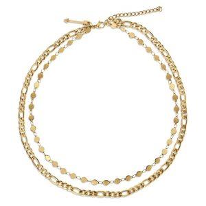 Ellie Vail Jayce Double Chain Necklace