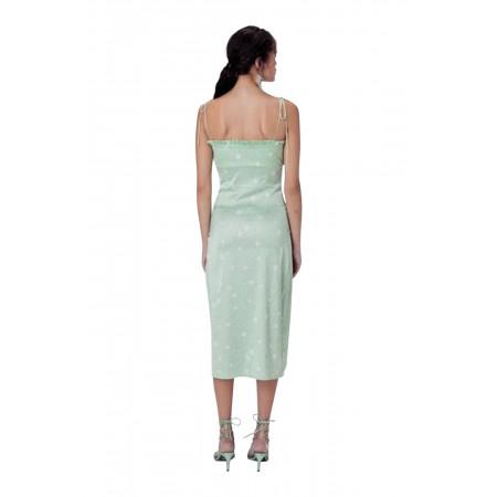 For Love and Lemons Robin Cheetah Midi Dress