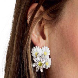For Love and Lemons Posy Drop Earrings
