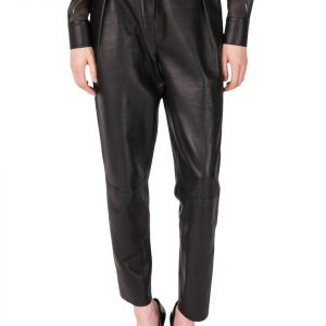 La Marque Tapered Leather Pant