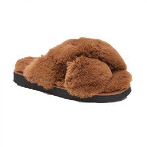 Apparis Faux Fur Slippers