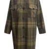 Long Plaid Jacket by Re:named