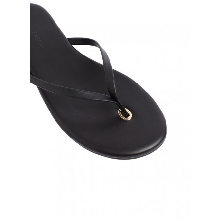 Melissa Odabash Leather Flip Flop