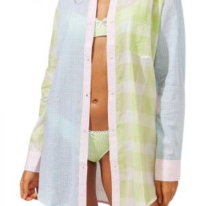 The Solid & Striped Women's The Long Oxford Tunic Cover-Up