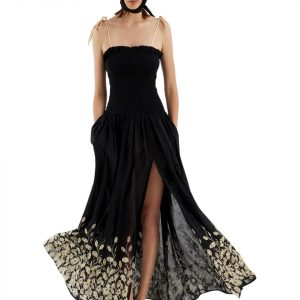 My Beachy Side Dove Maxi Dress