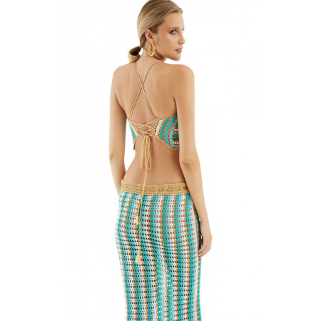 Alouette Halter Top by My Beach Side