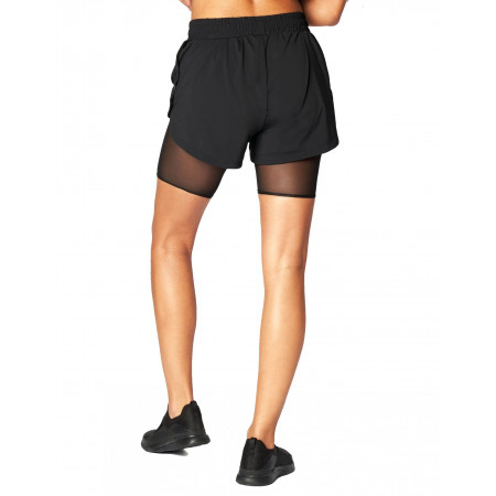 Black Boxing Shorts by Heroine Sport
